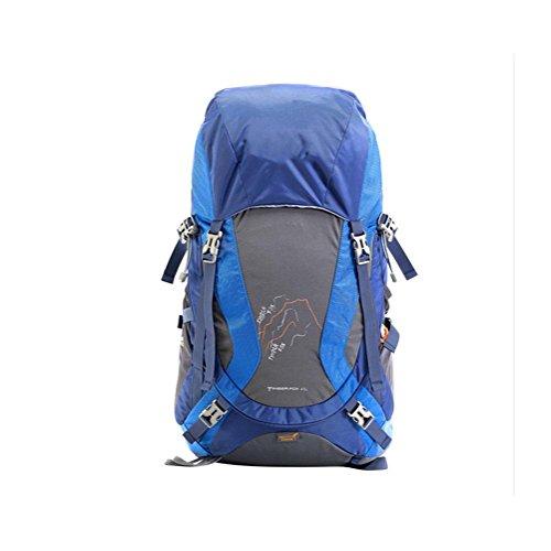 45L Zaino all'aperto pacchetto professionale per alpinismo borsa , blue blue