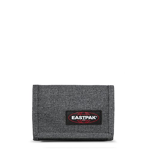 Eastpak Crew Single Geldbörse, Grau (Black Denim), 9.5 cm x 13.5 cm