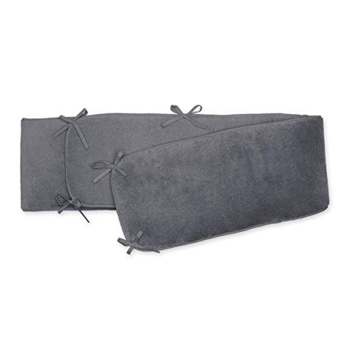 BEMINI Tour de parc 75x92x28 cm gris anthracite en Softy