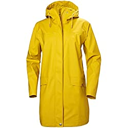 Helly Hansen Moss Outdoor Impermeable Chaqueta De Invierno, Mujer, Essential Yellow, L