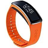 Samsung ETSR350BOEGWW Bracelet d'origine pour Samsung Galaxy Gear Fit Orange