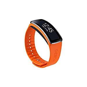 Samsung ETSR350BOEGWW Bracelet d'origine pour Samsung Galaxy Gear Fit Orange