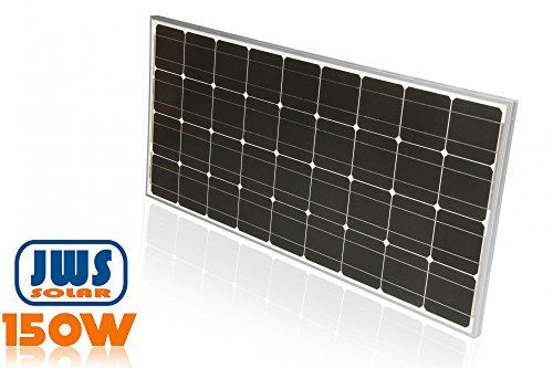 150Watt Solarpanel 12 Volt Monokristallin - 2