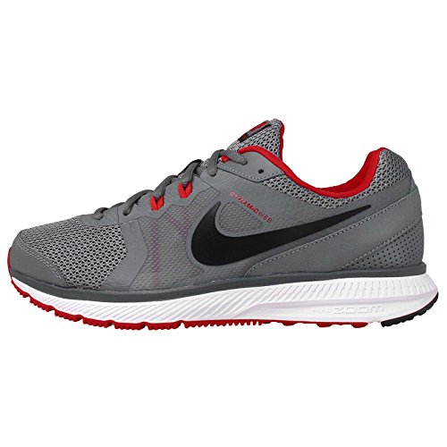 Nike Zoom Winflo, Chaussures de Running Entrainement Homme Cool Grey/Black/University Red/White