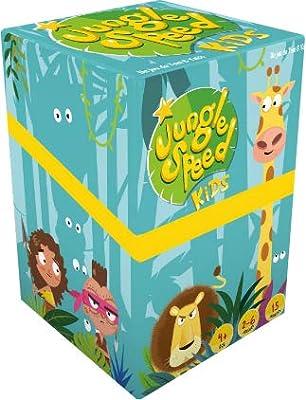 Asmodee ASMJSKI01EN Jungle Speed Kids Couleurs Mixtes