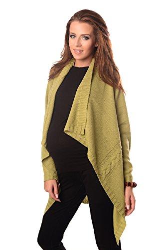 Purpless Maternity Cardigan grossesse gilet veste cascade 9003 Pistachio