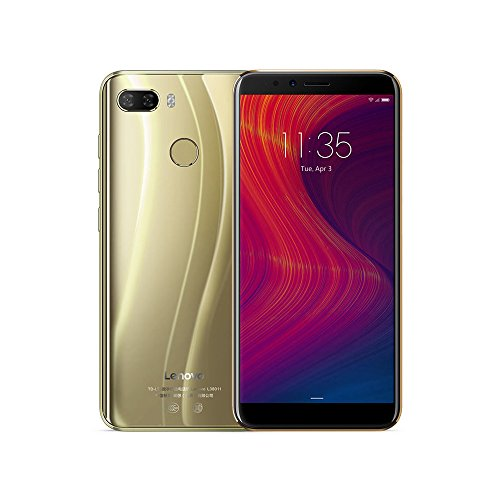 Lenovo K5 Play 4G Teléfono Móvi ID de Cara 5.7 Pulgadas HD + 18: 9 Monitor Boca de Dragón MSM8937 Ocho Nucleos 3GB + 32GB 13MP + 2MP Parte Trasera 8MP Cámara Frontal 3000mAh (Oro)