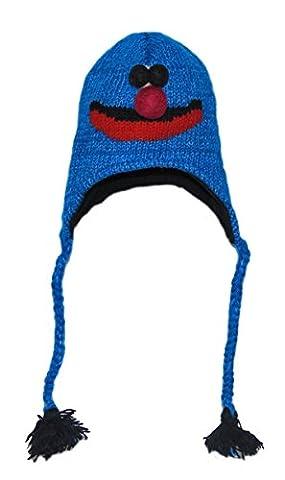 Ski Monstre Gratuit Costume - Bonnet/Chapeau Animal - Monstre Bleu Enfant -