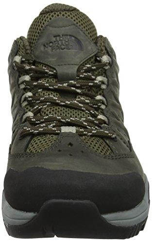 The North Face Hedgehog Hike Gore-Tex II, Chaussures de Randonnée Basses Homme Vert (Tarmac Green/burnt Olive Green)