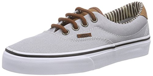 Vans Era 59, Zapatilla Baja Unisex adulto, Gris (C&L/Silver Sconce/Stripe Denim), 35.5 EU