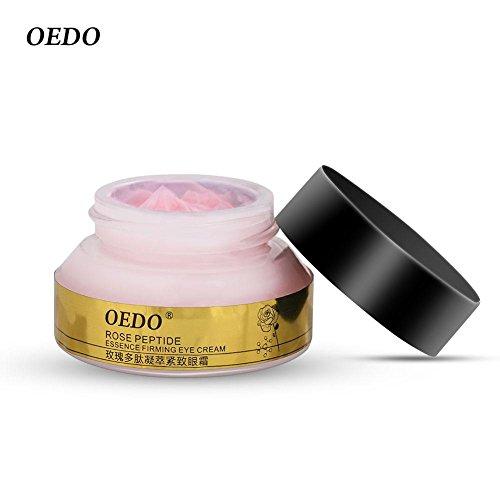 Zerone Anti-Aging Falten Augencreme Essence Rose Peptid Augenhaut Caring Straffende Feuchtigkeitscreme