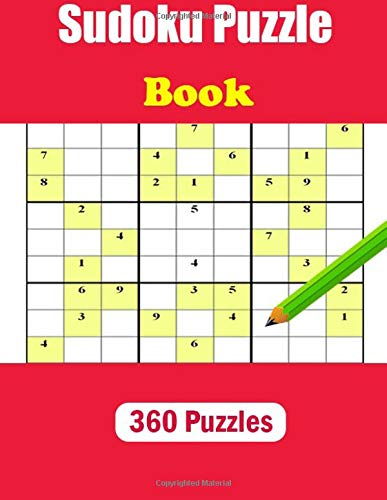 Sudoku Puzzle Book, 360 Puzzles: This big Sudoku puzzle book contains 360 puzzles por zero man