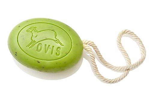 Savon ovale avec corde / Verveine