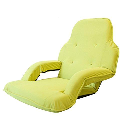 KFXL yizi Canapé pliable confortable de sofa créatif/coussin de fenêtre de baie de chambre à coucher/avec des accoudoirs chaise de plancher de salon de couleur pure (8 couleurs facultatives)