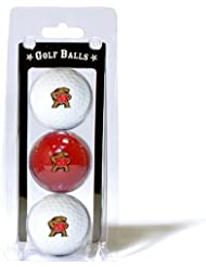 University of Maryland 3 Golf Ball Pack by Team Golf
