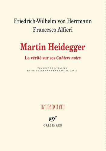 Martin Heidegger: La vrit sur ses Cahiers noirs