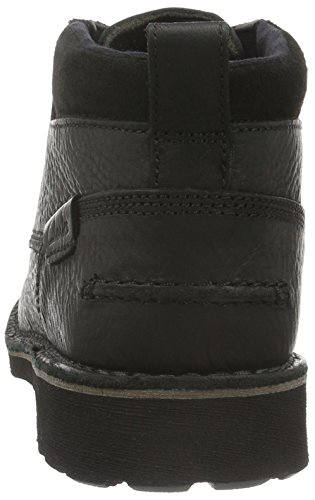 Clarks Herren Lawes Top Kurzschaft Stiefel Schwarz (Black Warm Lined Leather)