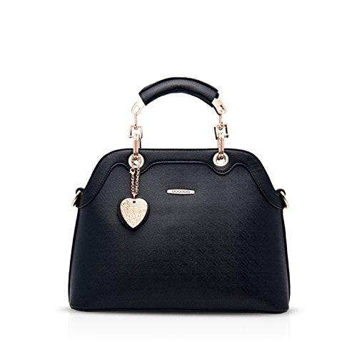 NICOLEDORIS-New-Fashion-Women-OL-Handbag-Shoulder-Bag-Shell-Bag-Crossbody-Bag-Waterproof-PU-Leather