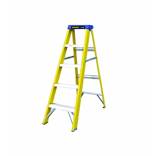 YOUNGMANS S400 - ESCALERA PLEGABLE (FIBRA DE VIDRIO  3 ESCALONES)