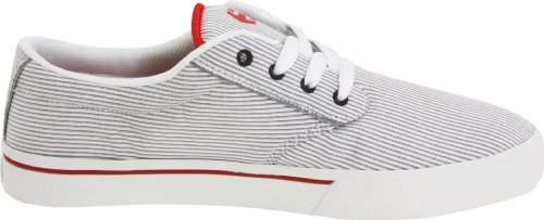 Solaria Publications Unisex-Erwachsene Jameson 2 Derby Bianco (White/Red)