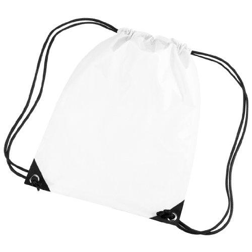 Bagbase Premium Turn Sack Wasser abweisend (11 Liter) Weiß
