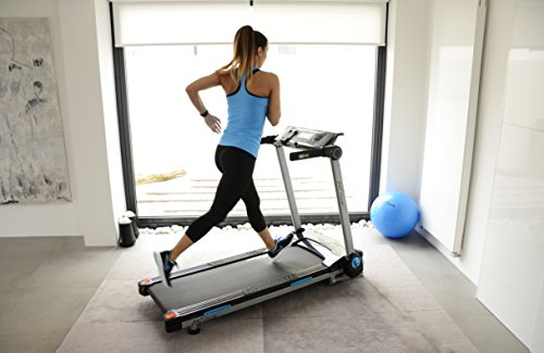 417gPi%2Bx5vL - JTX Slim Line Flat Foldable Running Machine - Folding Treadmill - Compact, Electric, Motorised Exercise Machine with Digital Incline for the Home Gym - Fat Burning & Weight Loss Programs - Speakers