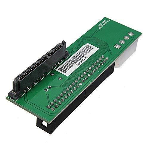 ETbotu Converter Card,2,5 Zoll SATA zu 3,5 Zoll IDE Adapter 2,5 oder 3,5 Zoll HDD oder SSD SATA Festplatte zu 40 Pin 3,5 Zoll PATA Desktop -