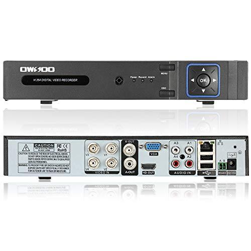 OWSOO Netzwerk DVR Digitaler Videorekorder (1080N(960 * 1080) P2P) CCTV Telefon Control Motion Detection E-Mail Sicherheitsalarm f¨¹r ¨¹berwachungskamera