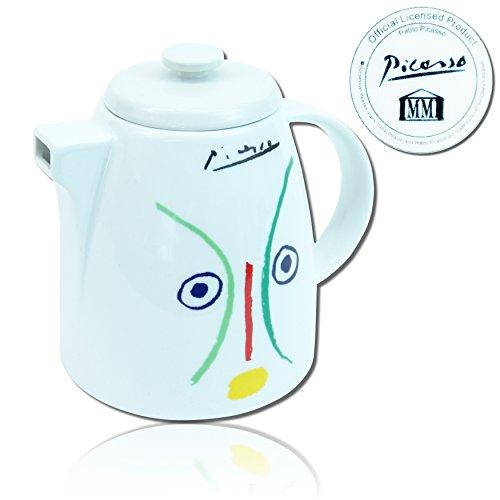 Pablo Picasso Porzellan Teekanne Kaffeekanne Kanne Amoureuse 1961 Designer