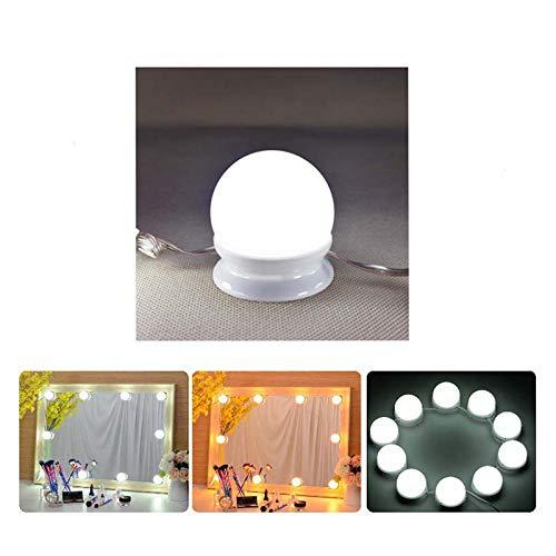 Haut Pflege Werkzeuge Wiederaufladbare Make-up Kosmetische Faltbare Led Licht Usb Batterie Luminous Make-up Spiegel Home Reise Salon Etc Schönheit & Gesundheit