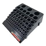 BESTOMZ Portabrocas Caja de Almacenamiento Organizador Caja Vacía Negro