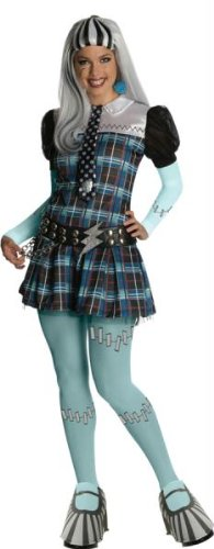 Deluxe Frankie Maske - Rubies Kost-me Deluxe Monster High Frankie