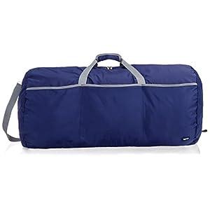 AmazonBasics – Bolsa grande de viaje/deporte (lona, 98 l), color azul marino