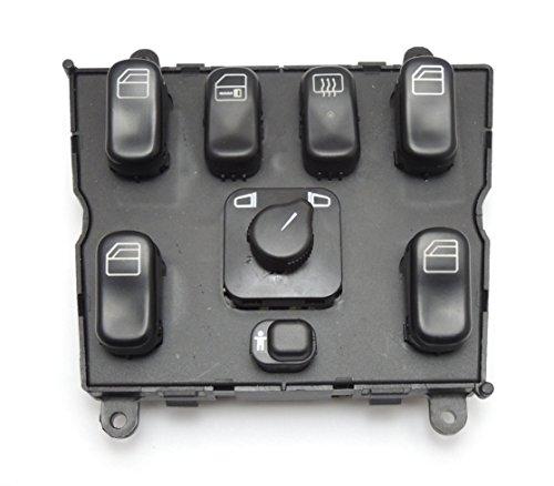 Fensterheber Schalter Schaltelement Elektrische Fensterheberschalter kompatibel mit W163 ML270 ML320 ML430 1638206610 03751566
