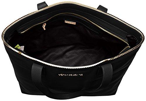 Versace Damen Ee1vqbbh5_e75426 Acquirente, 15 X 28 X 35 Cm Schwarz (nero)