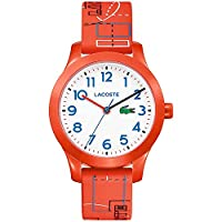 Lacoste Unisex-Child Analogue Classic Quartz Watch with Silicone Strap 2030010