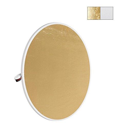 Photoflex Lighting (Photoflex LiteDisc Reflector Circular White/Gold 107cm/42'' [PHODL-1242WG])