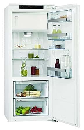 AEG SANTO skz81440C0Réfrigérateur A + +/139,8cm/199kWh/an/117L Partie de refroidissement/15L Partie Congélateur/fermeture amortie/Blanc