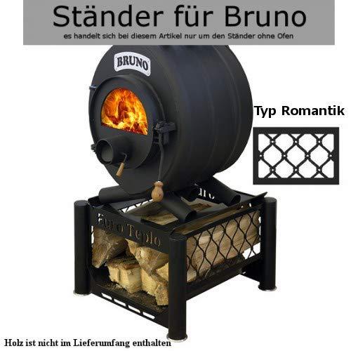 Ständer II unter den Ofen BRUNO- Typ Romantik