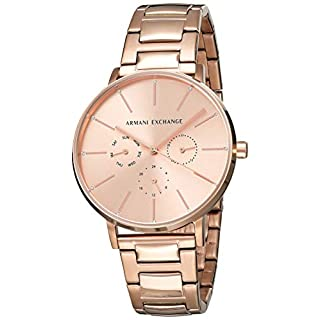 Armani Exchange Womens Analogue Quartz Watch with Stainless Steel Strap AX5552