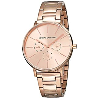 Armani Exchange Lola Analog Gold Dial Women's Watch-AX5552