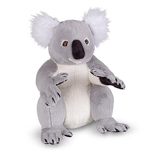 Melissa & Doug Koala - Naturgetreues Plüschtier mit lebensechtem Gesichtsausdruck