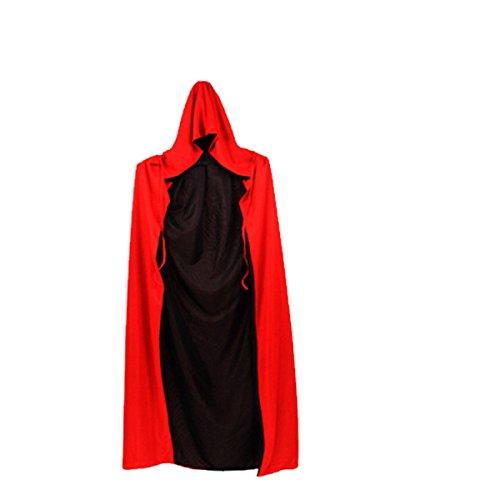 tüme Erwachsene Kindermaske Umhang Kostüme Kleidung Requisiten Hüte Schwerter,E-180CM (Weiblichen Zorro-halloween-kostüme)