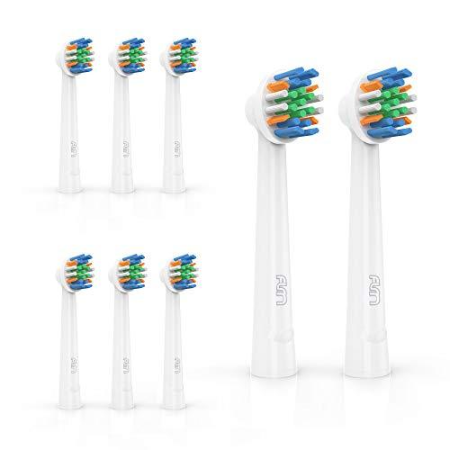 FLM FlossAction Ersatzbürstenköpfe für Braun Oral B, 8 Stück, YE625 -