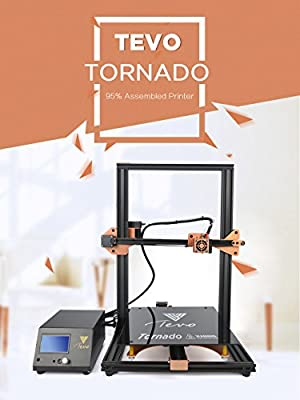 TEVO® Tornado Fully Assembled 3D Printer 3D Printing 300*300*400mm Large Printing Area 3D Printer Kit