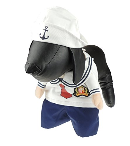 Super süße Hunde Katzen Kleid bis Halloween Funny Kostüm Navy Sailor (Halloween Hund Funnies)