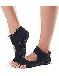 Toesox Unisex da Yoga IGPNT1760nevica Socks-Pair, Midnight Lace, Piccolo