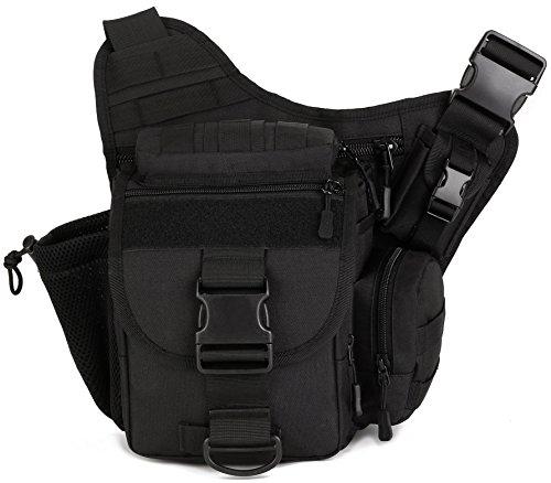 DCCN Militär Kamera Tasche Umhängetasche Sling Rucksack 30*10*30 cm (Tasche Sling)