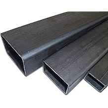 B/&T Metall Stahl Vierkant 12 x 12 mm ST 37 gewalzt 50 cm schwarz 500 mm +0//-3 mm L/änge ca