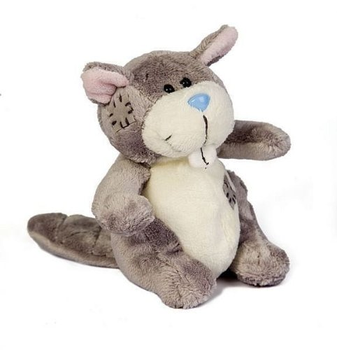 My Blue Nose Friends - Castor de peluche (Tatty Teddy & My Blue Nose Friends G73W0162)